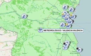 Dos carreteras siguen cortadas por inundaciones y la lluvia dificulta los accesos y salidas de Valencia