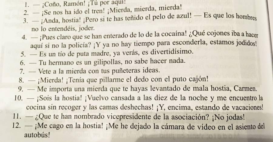 La peculiar guía con la que aprenden español los rusos: «Pues claro que se han enterado de lo de la cocaína»