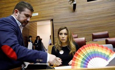 Les Corts aprueban la ley de igualdad LGTBI con la abstención del PP