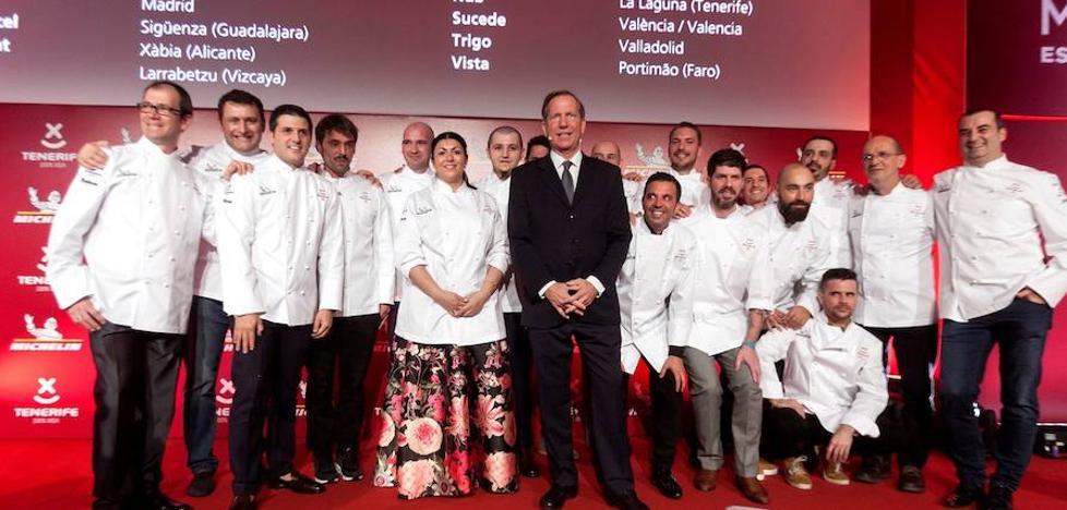 Los restaurantes con estrellas Michelín de Valencia, Alicante y Castellón