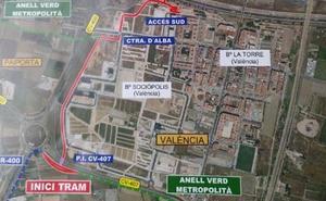 Una plataforma ciclopeatonal unirá Valencia y l'Horta Sud