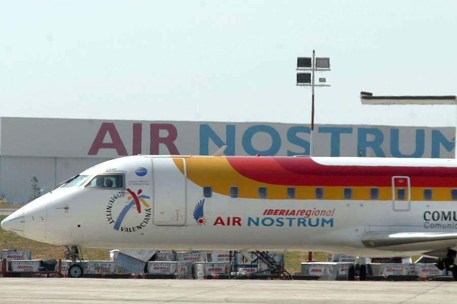 Los 100 vuelos cancelados por Air Nostrum por la huelga de pilotos