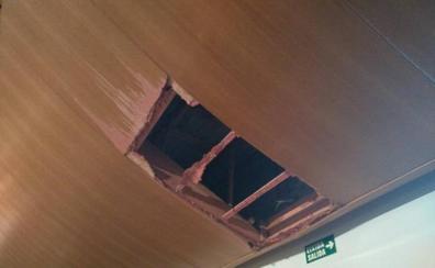 El Palau suspende el concierto de la Orquesta de Valencia de mañana a causa de los daños por la lluvia en la Sala Iturbi