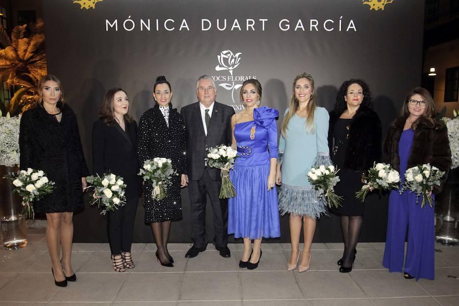 Lo Rat Penat rinde homenaje a la regina Mónica Duart