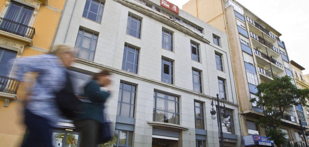 Expertos fiscales, sobre la sede del PSPV: «Si paga IBI, no hay exención posible»