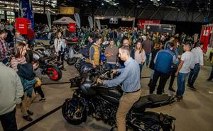 Récord de visitantes en el Salón de la Moto