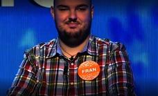 El último récord de Fran en 'Pasapalabra'