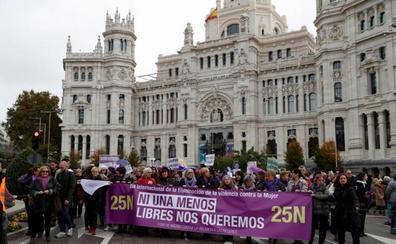 Grito unánime en España contra la violencia machista: «Ni una menos»