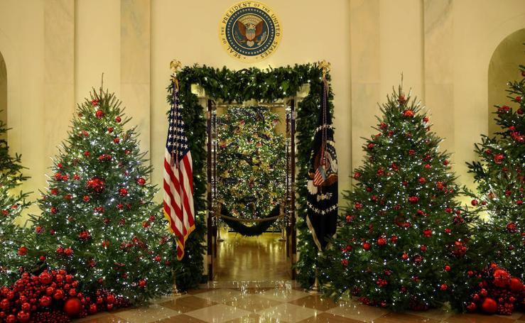 Decoración de la Casa Blanca para la Navidad 2018