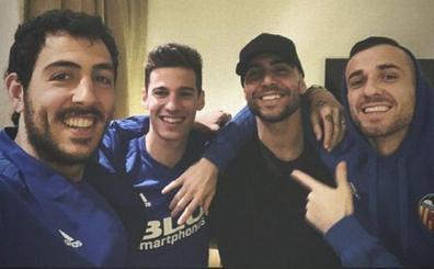 Zaza hace piña antes de la final contra la Juventus