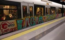 Denuncian intrusiones y vandalismo de grafiteros en los talleres de Metrovalencia