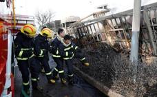 Una explosión junto a una planta química en China deja al menos 22 muertos
