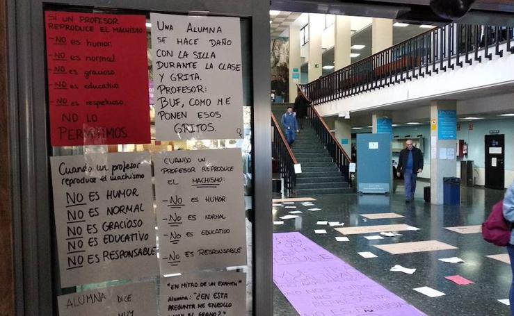 Un grupo de alumnas denuncia acoso y expresiones machistas de un profesor de la Universitat de València