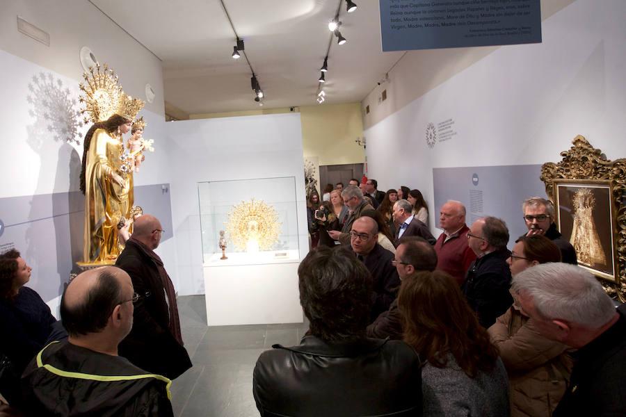 Exposición sobre la Virgen de los Desamparados en el MuVIM