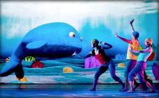 Danza en 'Ballenas, historias de gigantes'