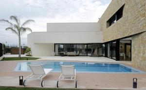 La casa de Antonio Herrero, la piedra como protagonista