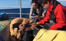 El 'Open Arms' auxilia al pesquero español en las costas libias