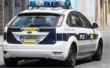 Persecución por las calles de Valencia para cazar a una conductora ebria y drogada que iba en contradirección