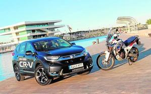 Honda CR-V y Africa Twin: Aventureros y urbanitas