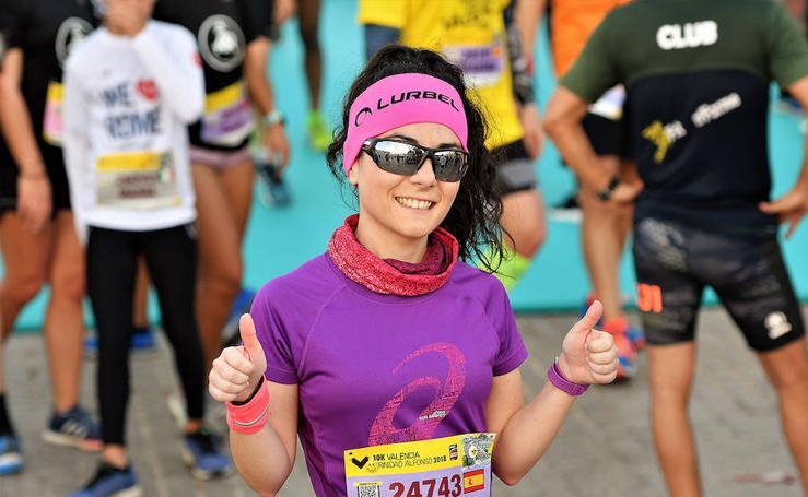 Búscate en la llegada a meta del Maratón Valencia 2018