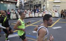 A los pies del Maratón