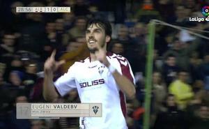Los cinco mejores goles de la jornada 16 de Segunda