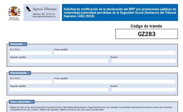 70576cd91 Descargar el formulario de devolución del IRPF de maternidad y las cuatro  formas de presentarlo