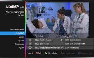 El botón azul de LOVEStv: las diferencias para acceder a Telecinco, Antena 3 y RTVE