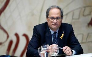 Torra avala las protestas de los CDR contra Sánchez en Barcelona el 21-D