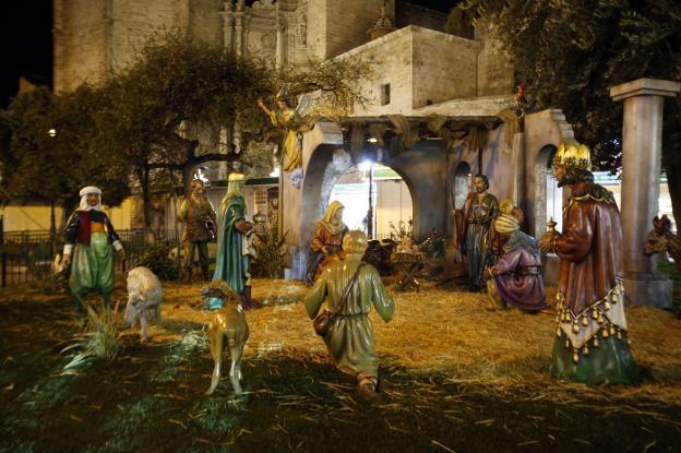 Belén del Ayuntamiento de Valencia en Navidad 2018: horario y días abierto