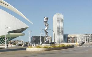 La nueva escultura de Valencia que cuesta 1,25 millones de euros