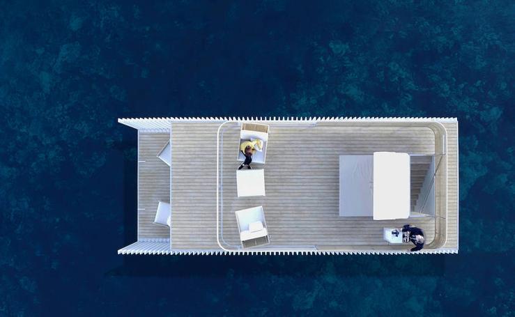 Punta de Mar, el primer hotel flotante y transportable es made in Comunitat Valenciana