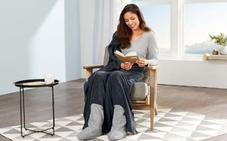 De la batamanta a la botamanta: llega la manta con calcetines