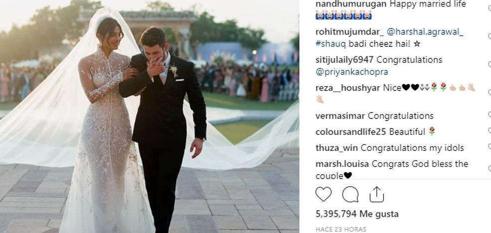 Priyanka Chopra y Nick Jonas, una boda de cuento de hadas de 5 días