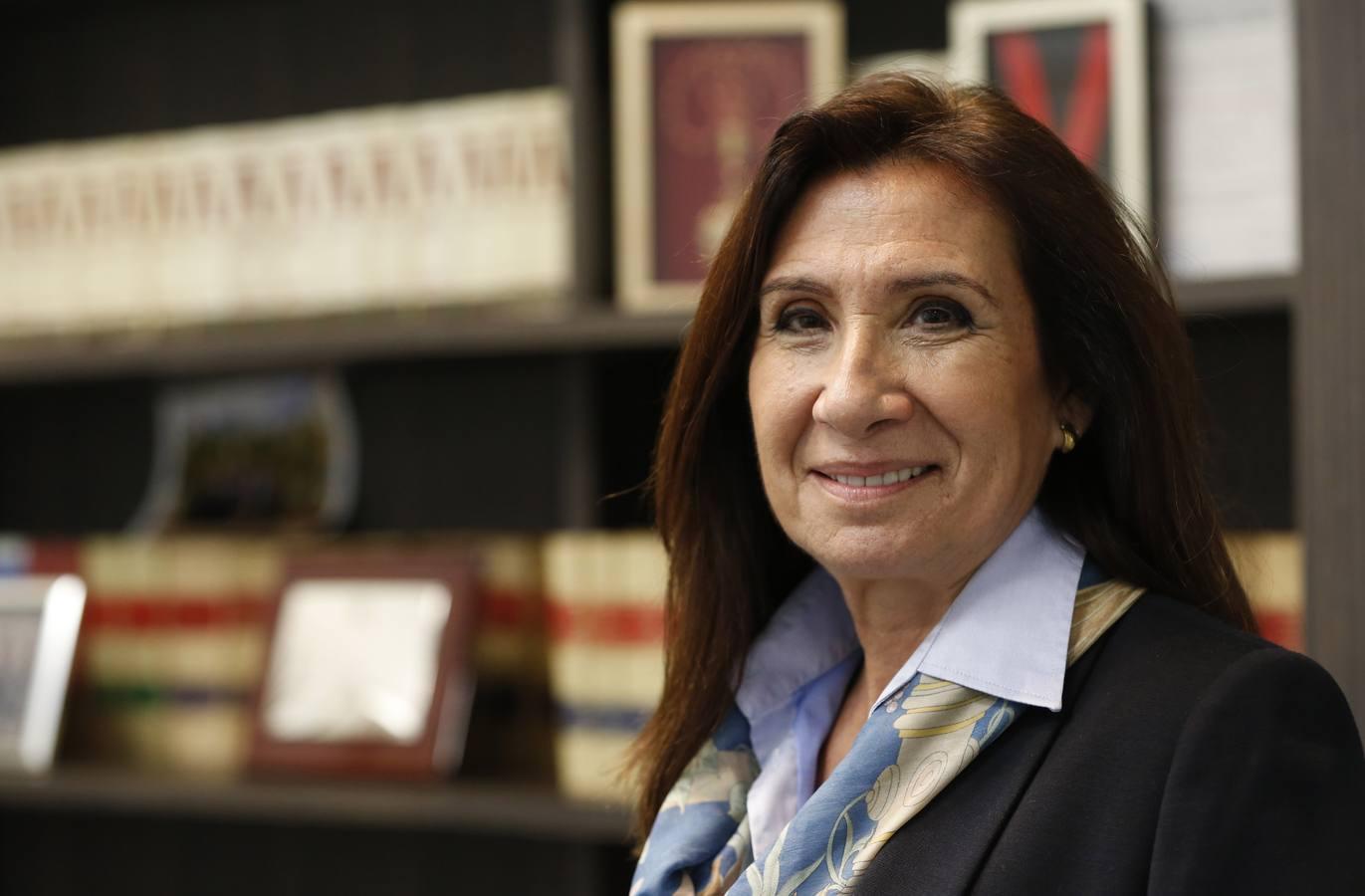 Auxiliadora Borja, primera decana del Colegio de Abogados de Valencia