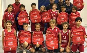 El equipo alevín IR del Paidos Dénia se alza líder imbatido en la competición de baloncesto