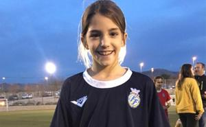 Marta Llorca entrena con la selección valenciana