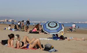 Valencia, a 20 grados en pleno diciembre