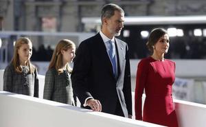 La Familia Real, protagonista de los actos del Día de la Constitución
