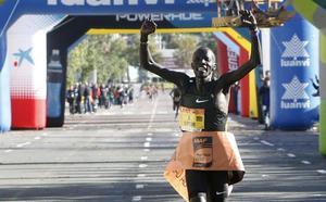 La Federación ratifica el récord del Medio Maratón de Valencia