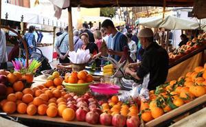 El Mercado Medieval toma la calle Loreto y el centro