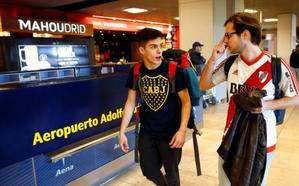 Frustración por ver el River-Boca en la tele mientras hay ultras en Madrid