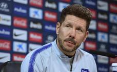 Simeone: «No hemos hablado con el club de fichar»