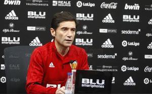 Marcelino: «Me sorprendió que Mestalla silbara a Parejo antes de tocar un balón»