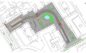 Así es el proyecto de reurbanización de la calle Cronista Carreres de Valencia