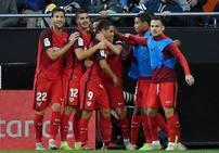 Fotos del Valencia-Sevilla