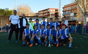 El Hércules CF hace doblete en el 'Torneo Ciudad de Dénia' de fútbol 8