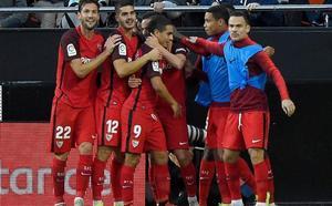 VÍDEO | El gol de Sarabia que adelantó al Sevilla