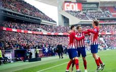 El Atlético traslada la fiesta al Metropolitano