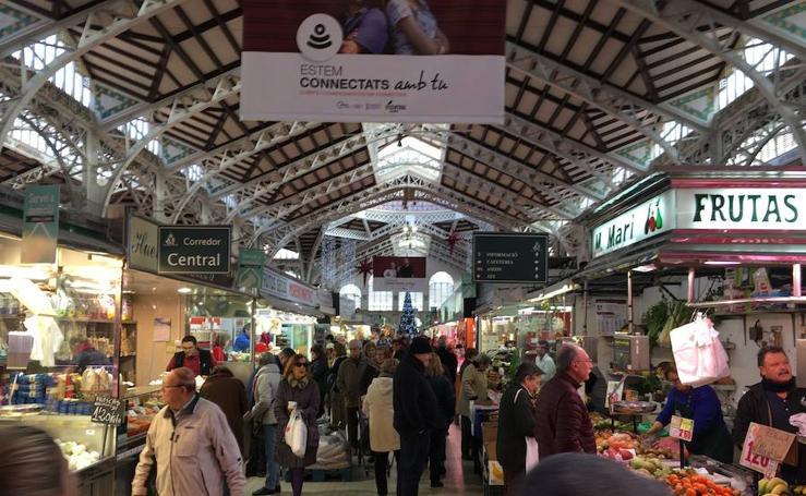 Fotos de los mercados municipales de Valencia